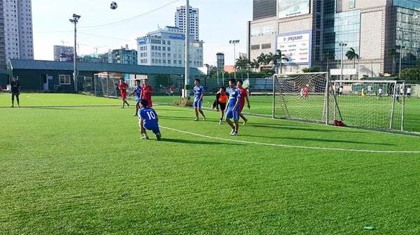 Sân bóng cỏ nhân tạo tại Hà Nội