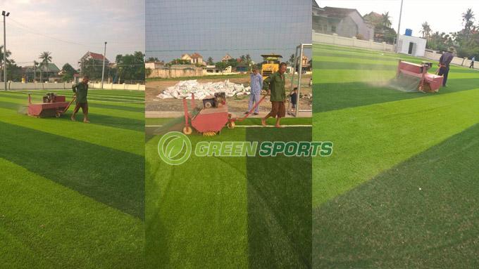 QUy trình bảo dưỡng cỏ nhân tạo