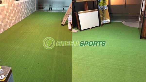 Thi công trải cỏ sàn cho công ty Zen Việt Nam