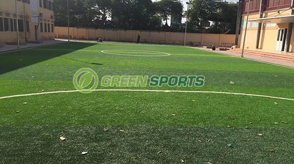 Sân bóng đá mini trường THCS Lương Thế Vinh