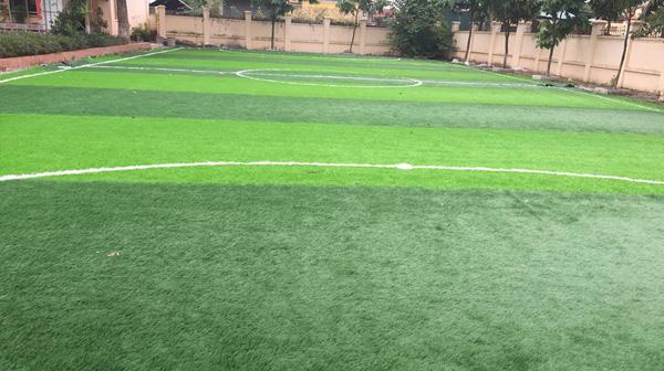 Dự án sân bóng đá mini Trường THCS Thượng Mỗ
