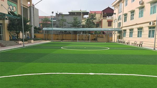 Dự án sân bóng đá mini trường tiểu học Tân Hội B