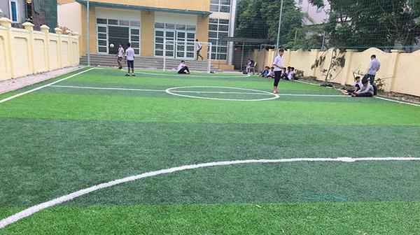 Dự án sân bóng đá mini trường THCS Liên Trung