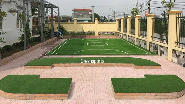 Dự án sân vườn, sân bóng mini trường mầm non Thượng Mỗ