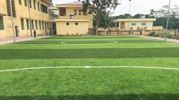 Dự án sân bóng đá mini trường tiểu học Trung châu A