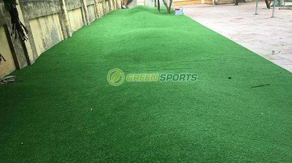 Dự án sân vườn trường tiểu học Trung Châu A