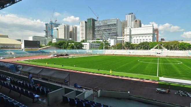 U22 Việt Nam phải đá trên sân cỏ nhân tạo ở SEA Games 2019