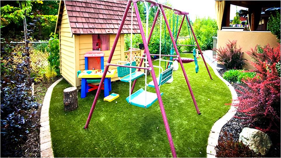 Cỏ nhân tạo sân vườn ứng dụng trong thiết kế phong thủy sân vườn 4