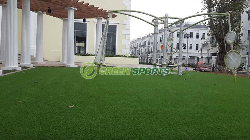 Thi công cỏ vườn khu tổ chức sự kiện và khu vui chơi Club House