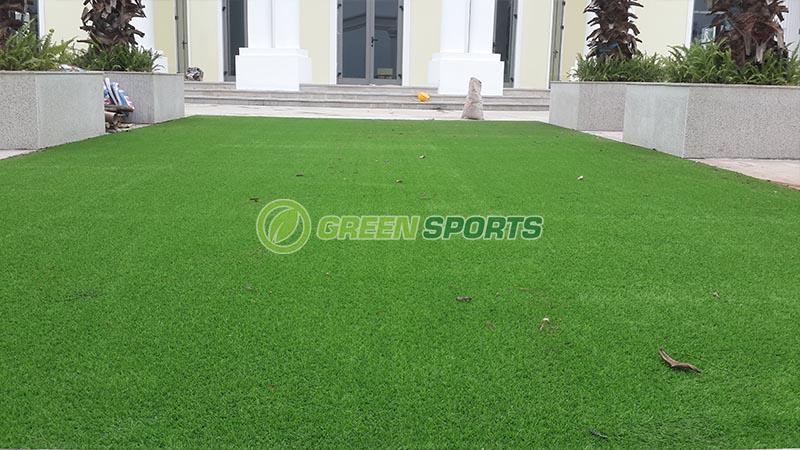 Thi công cỏ vườn khu tổ chức sự kiện và khu vui chơi Club House 2