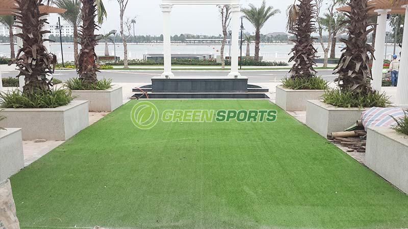 Thi công cỏ vườn khu tổ chức sự kiện và khu vui chơi Club House 3
