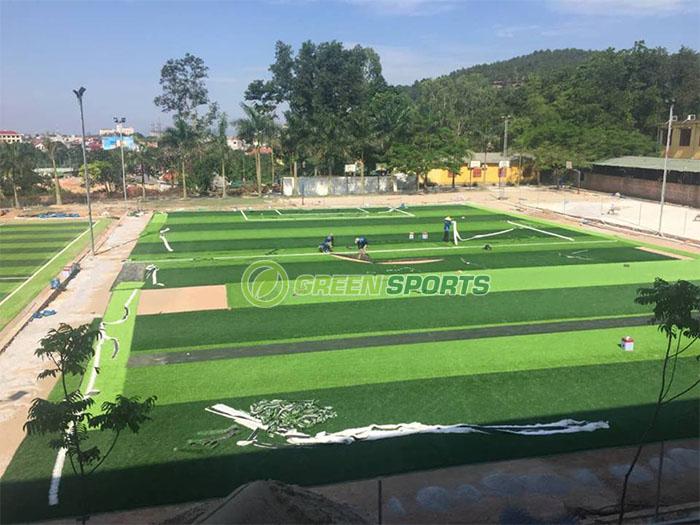 Sân bóng THCS Nguyễn Bỉnh Khiêm - Hạ Long 1
