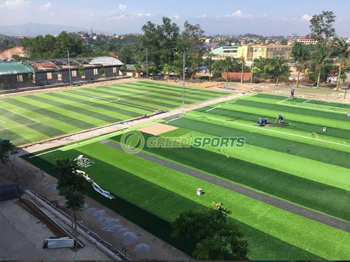 Sân bóng THCS Nguyễn Bỉnh Khiêm - Hạ Long 2